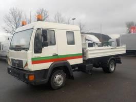 kipper bedrijfswagen MAN LE140C L20 DOKA-KIPPER 8.140 8.150 2001