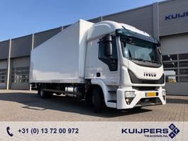 bakwagen vrachtwagen Iveco EuroCargo 120 120E / 12 ton / Box / Loadlift / NEW Engine!! 2017