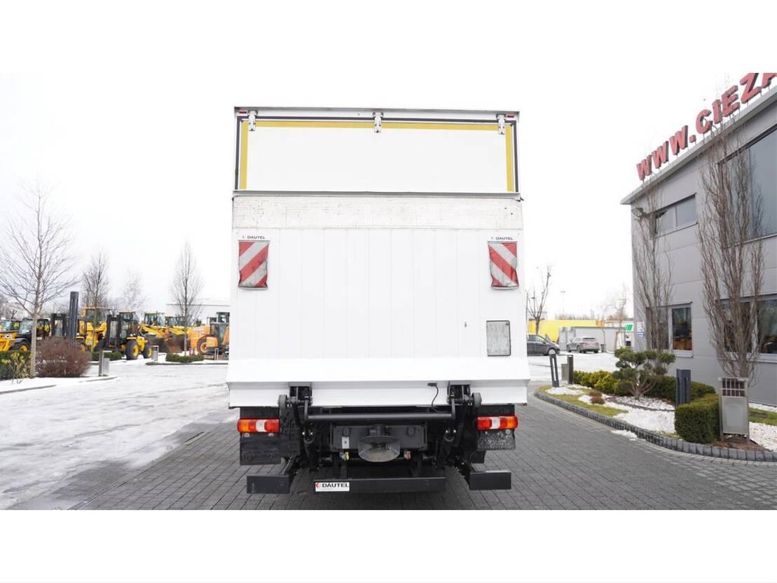 koelwagen vrachtwagen Mercedes-Benz Atego 1224 , E6 , 4x2 , retarder , 18 EPAL , Glob cab , tail lif 2016