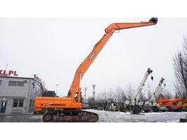 rupsgraafmachine Doosan DX490LC-3 , 50t , LONG Reach 20m + digging boom , tracks 60cm , 2014