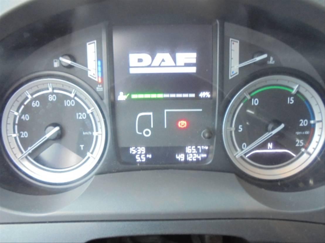 gevaarlijke stoffen trekker DAF 440 FT ADR 2014
