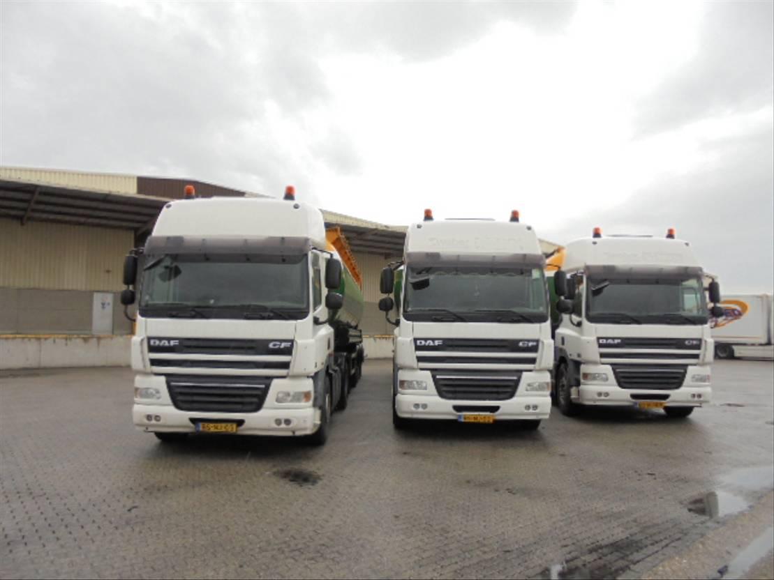 silo vrachtwagen DAF CF 85.360 6X2 COMPRESSOR 2006