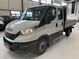 open laadbak bedrijfswagen Iveco DAILY Nieuw 35S12 120pk Airco Dubb cab 7Pers NIEUW NIEUW NIEUW 2021 ! 2021