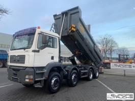 kipper vrachtwagen > 7.5 t MAN TGA 35.430 Full steel - Manual - Meiller - Airco 2004
