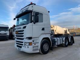 zware last trekker Scania R580 180Ton 2014
