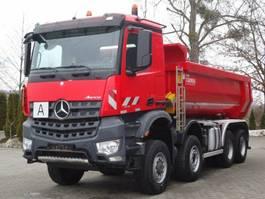 open laadbak vrachtwagen Mercedes-Benz AROCS 4145 8x6 EURO6 Muldenkipper Carnehl
