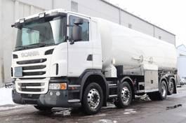 tankwagen vrachtwagen Scania G440  E5 8x2 32.000Ltr. ADR 2011