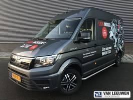 gesloten bestelwagen MAN TGE 3.140 AUT8 FWD SW Gesloten bestelwagen 2020