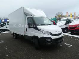bakwagen vrachtwagen Iveco Daily 35S16 Koffer mit Ladebordwand 500Kg  Klima