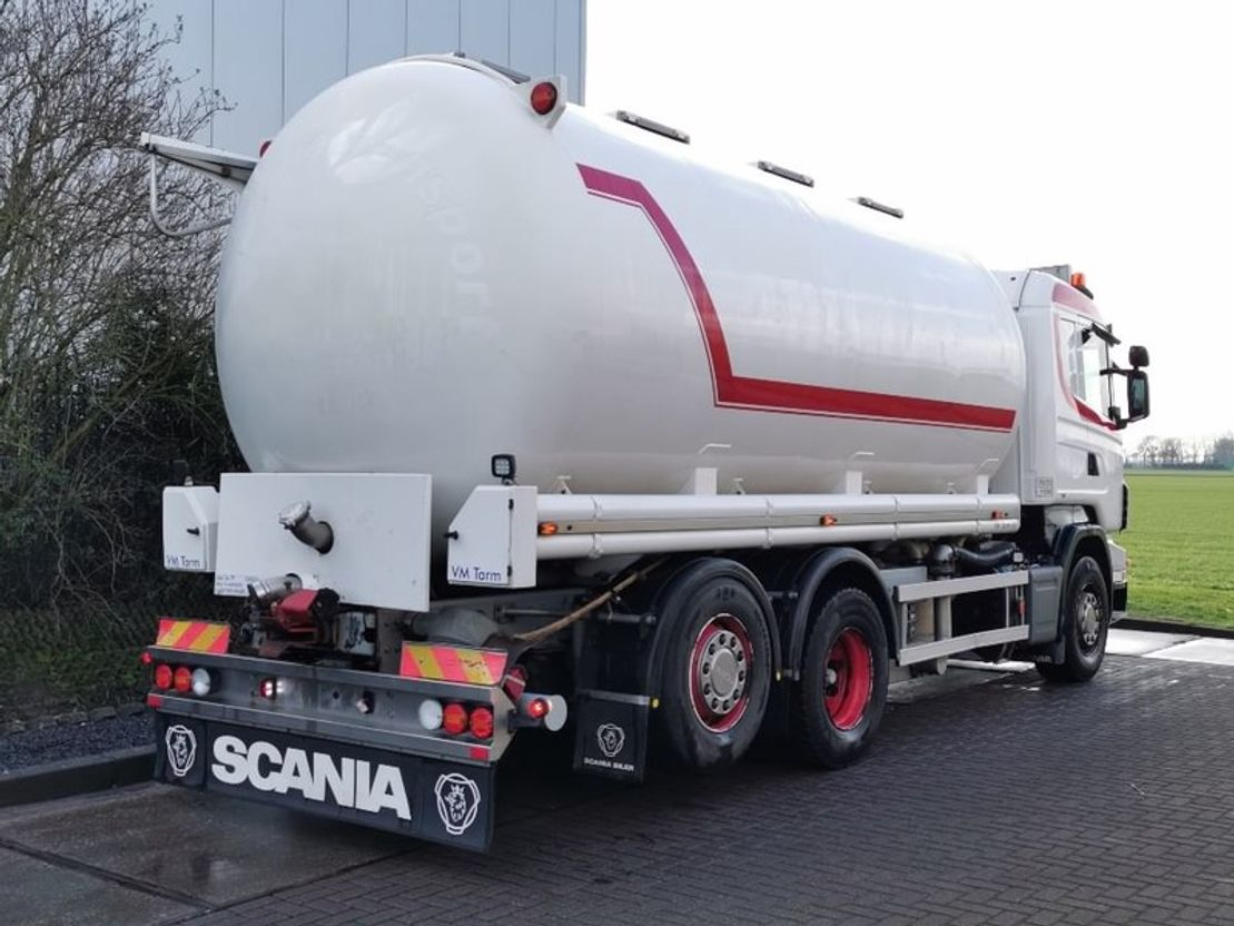 silo vrachtwagen Scania R500 6x2 animal food 2008