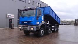 kipper vrachtwagen > 7.5 t Iveco Eurotrakker 340 E 34 (GRAND PONT / LAMES / POMPE MANUELLE / 12 ROUES) 1999