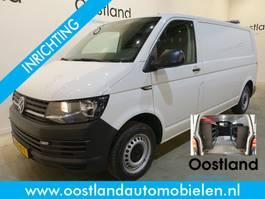 gesloten bestelwagen Volkswagen Transporter 2.0 TDI L2H1 Servicewagen / Modul-System Inrichting / 220V / Airco / Cru... 2016