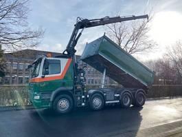 kipper vrachtwagen > 7.5 t DAF CF 85 FAD CF85 460 Kipper Mit Kran Hiab 144 E 2011