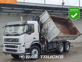 kipper vrachtwagen > 7.5 t Volvo FM9-340 FM 340 6X4 Manual Big-Axle 2-Seiten Euro 3 Hiab 144 Hi Duo 2006