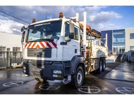 kipper vrachtwagen > 7.5 t MAN TGA 33.400 BB - PALFINGER PK 27002 (3x Hydr.+ Remote C.) 2007