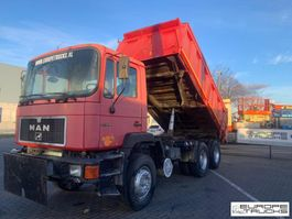 kipper vrachtwagen > 7.5 t MAN 26.342 Full steel - Manual - Mech pump 1994