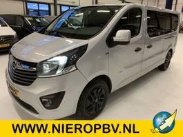 gesloten bestelwagen Opel Vivaro Dub cab Airco Navi Camera 145PK Dub Schuideur Led Cruise control Stoelverwarming 2018