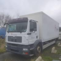 bakwagen vrachtwagen MAN 18 280 2008