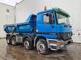 kipper vrachtwagen > 7.5 t Mercedes-Benz Actros 4140 manual francais 320