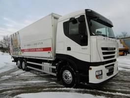 overige vrachtwagens Iveco Stralis 420, Lift.-Lenk Getränke Euro 5 EEV 2012