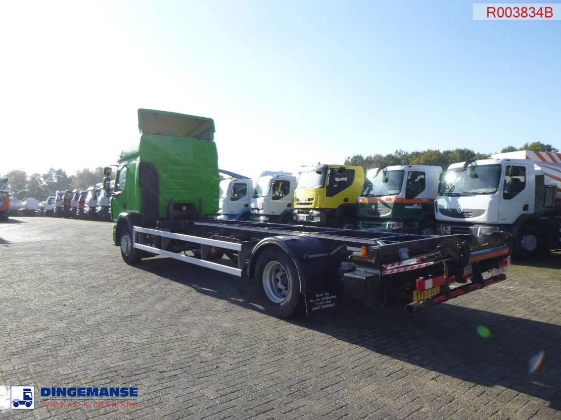chassis cabine vrachtwagen Renault Premium 380 dxi RHD 4x2 chassis 2013