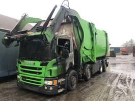 overige vrachtwagens Scania P370 8X2 GARBAGE TRUCK 2015