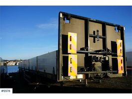 overige opleggers HRD 3 axle trailer Oil Express with complete frame set 2010
