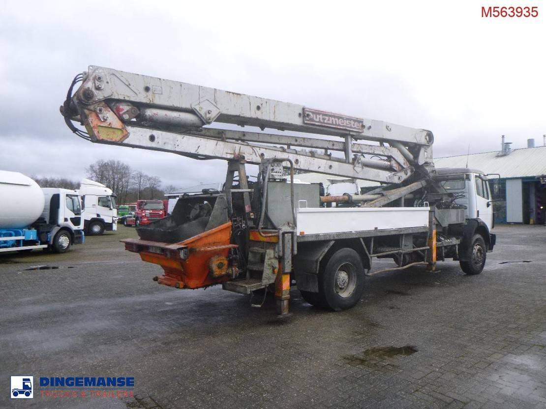 betonpomp vrachtwagen Mercedes-Benz 1922 4x2 Putzmeister concrete pump 1991