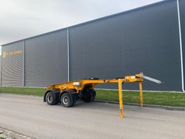 dolly aanhanger Faymonville 2 assige jeepdolly lucht geveerd dolly trailer 2012