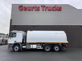 Veegmachine vrachtwagen Mercedes-Benz Actros 2541 6X2 BUCHER OMNIFANT 80 SWEEPING TRUCK/ KEHRMASCHINE/VEEGWAGEN 2007