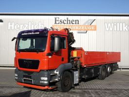 open laadbak vrachtwagen MAN TGS 26.320 6x2 Pritsche, Palfinger PK 15500 B 2009