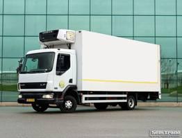 koelwagen vrachtwagen DAF LF 45.150 MANUAL STEEL SUSPENSION CARRIER SUPRA 550 2001