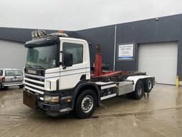 containersysteem vrachtwagen Scania 94G 300 6X2 HAAKSYSTEEM