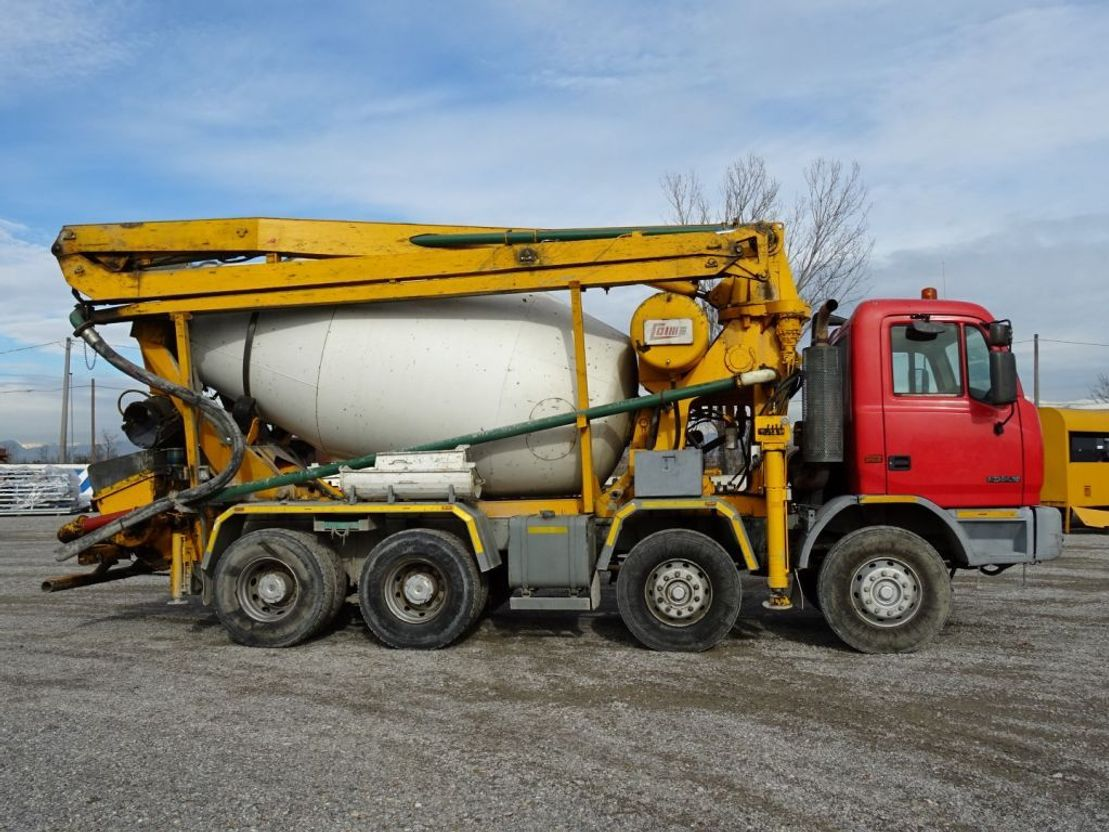 betonpomp vrachtwagen Astra ASTRA HD7 8438