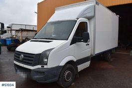 bakwagen vrachtwagen Volkswagen Box Truck 2014