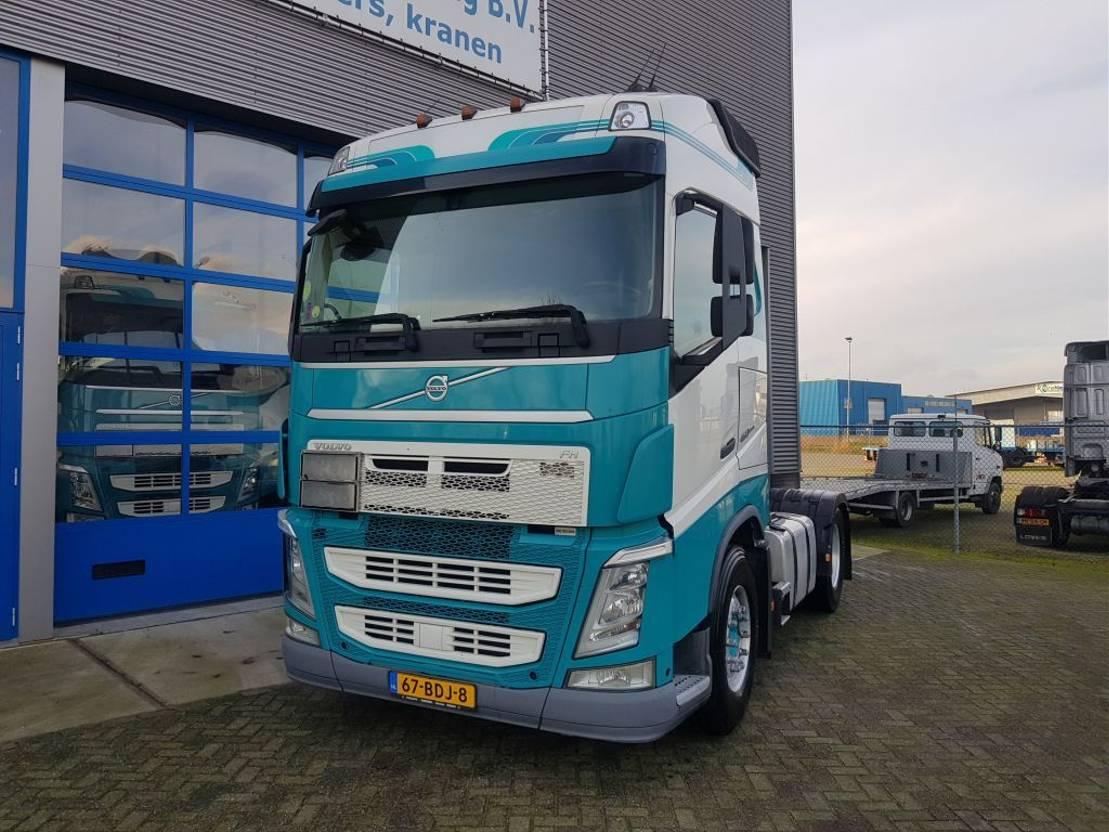gevaarlijke stoffen trekker Volvo FH 460 ADR Euro6 VEB+ PTO 2x tank 2013