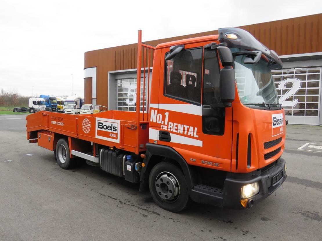 autotransporter vrachtwagen Iveco EuroCargo 80 80EL16 auto/machine transport!!!!!! 2014