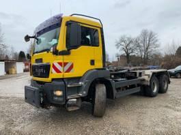 containersysteem vrachtwagen MAN TGS 26.480 6x6 Hydrodrive Winterdienst 2009