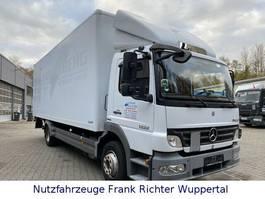 bakwagen vrachtwagen Mercedes-Benz 1222 Atego,HU10/21,erst424TKM,neueKupplung,LBW 2010