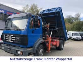 kipper vrachtwagen > 7.5 t Mercedes-Benz 1824 Kipper, AK 100.1,grünePl.AT-Motor erst 214T 1994