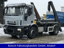 containersysteem vrachtwagen Iveco 180E 28 Tele-Absetzer 2014