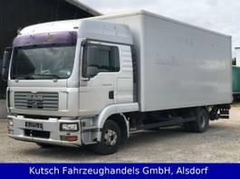 bakwagen vrachtwagen MAN TGL 12.240 BL Koffer, Hochdach, AHK, Klima 2006