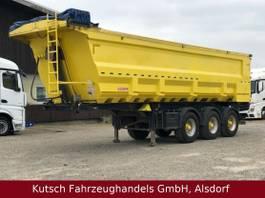 kipper oplegger Kempf SKM 38/3 Stahl ca. 35m³ Coil, Marcolin elektr. 2015