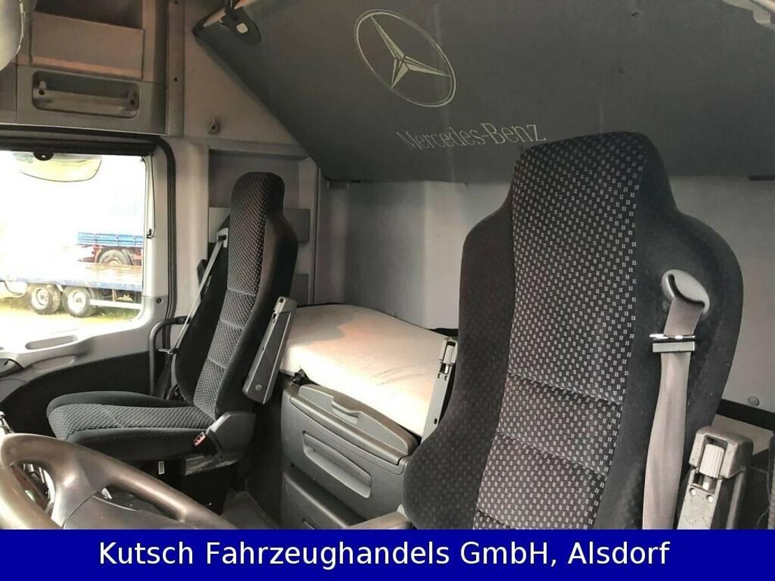 autotransporter vrachtwagen Mercedes-Benz Actros 1844 1844L MP3 Traktorentransporter + Kran MKG 2009