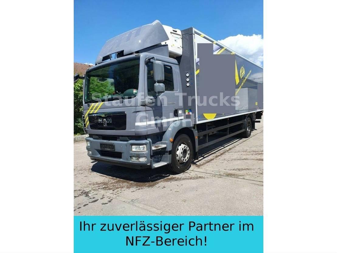 koelwagen vrachtwagen MAN TGM 18.290 Multi temp TK Koffer Carrier 3 Kamme 2012