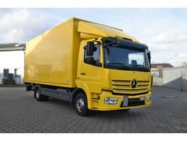 bakwagen vrachtwagen Mercedes-Benz Atego 818 Koffer Euro 6 LBW 1,5 t Spurassistent 2016