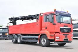 kraanwagen MAN TGS 26 EEV 6x4 Baustoff Hiab XS166 Schalt 2010