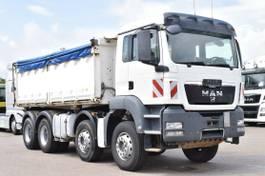 kipper vrachtwagen > 7.5 t MAN TGS 35 8x4 BB 3Seiten Meiller Kipper Klima 2012