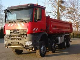 kipper vrachtwagen > 7.5 t Mercedes-Benz Arocs 4142 8x6 EURO6 DSK Meiller Kipper 2018