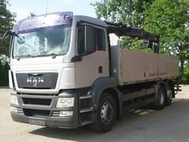 kraanwagen MAN TGS 26.480 6x2 Pritsche Kran TEREX 125.2 A12 2010